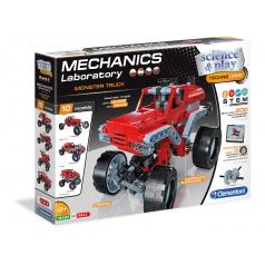 Clementoni Mechanická laboratoř - Monster truck, 10 modelů, 200 dílků