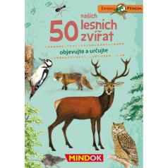 Mindok vzdělávací hra Expedice příroda: 50 našich lesních zvířat