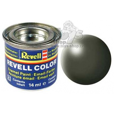 Revell emailová barva 32361 hedvábná olivově zelená