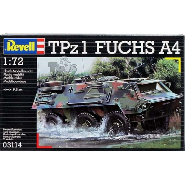 Revell tank model 03114 TPz 1 FUCHS A4 (1:72)