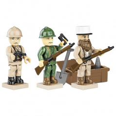 Cobi Figurky s doplňky French Armed Forces, 30 k