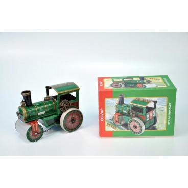 Kovap Parní válec silniční natahovací kov 18cm v krabičce Kovap, limitovaná edice
