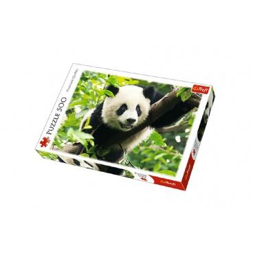 Trefl Puzzle Panda 500 dílků 48x34cm v krabici
