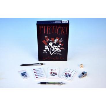 Pirtički společenská hra v krabici 17x24x4,5cm