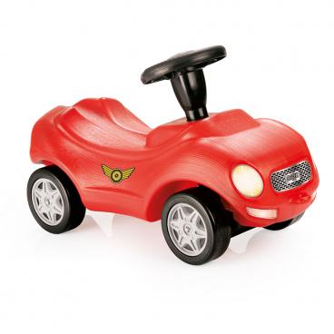 DOLU Odrážedlo závodní auto, červené