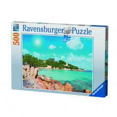 Ravensburger puzzle Pláž na Sardínii 500 dílků