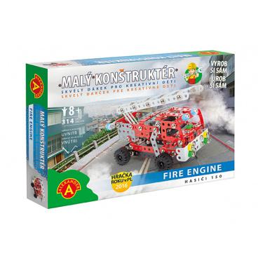 Alexander kovová stavebnice Hasiči 150-malý konstruktér