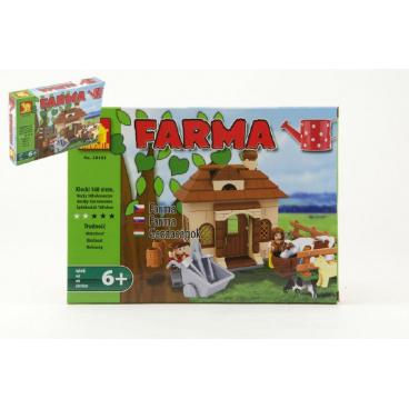 Dromader Stavebnice Dromader Farma 28405 168ks v krabici 25,5x18,5x4,5cm