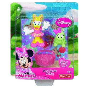 Fisher Price Minnie a Daisy figurka s doplňky w5123
