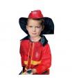 dětský karnevalový kostým požárník hasič 104-122 cm