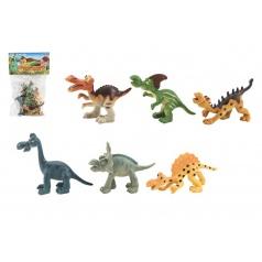 Teddies Dinosaurus plast 9-11cm 6ks v sáčku