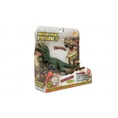 Teddies Dinosaurus plast 26cm na baterie se zvukem se světlem 2 druhy v krabici 24x25x9cm