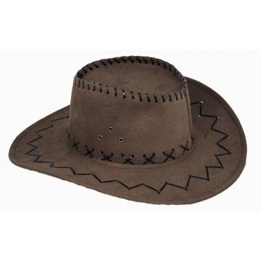 Karnevalový klobouk kovbojský, dospělý