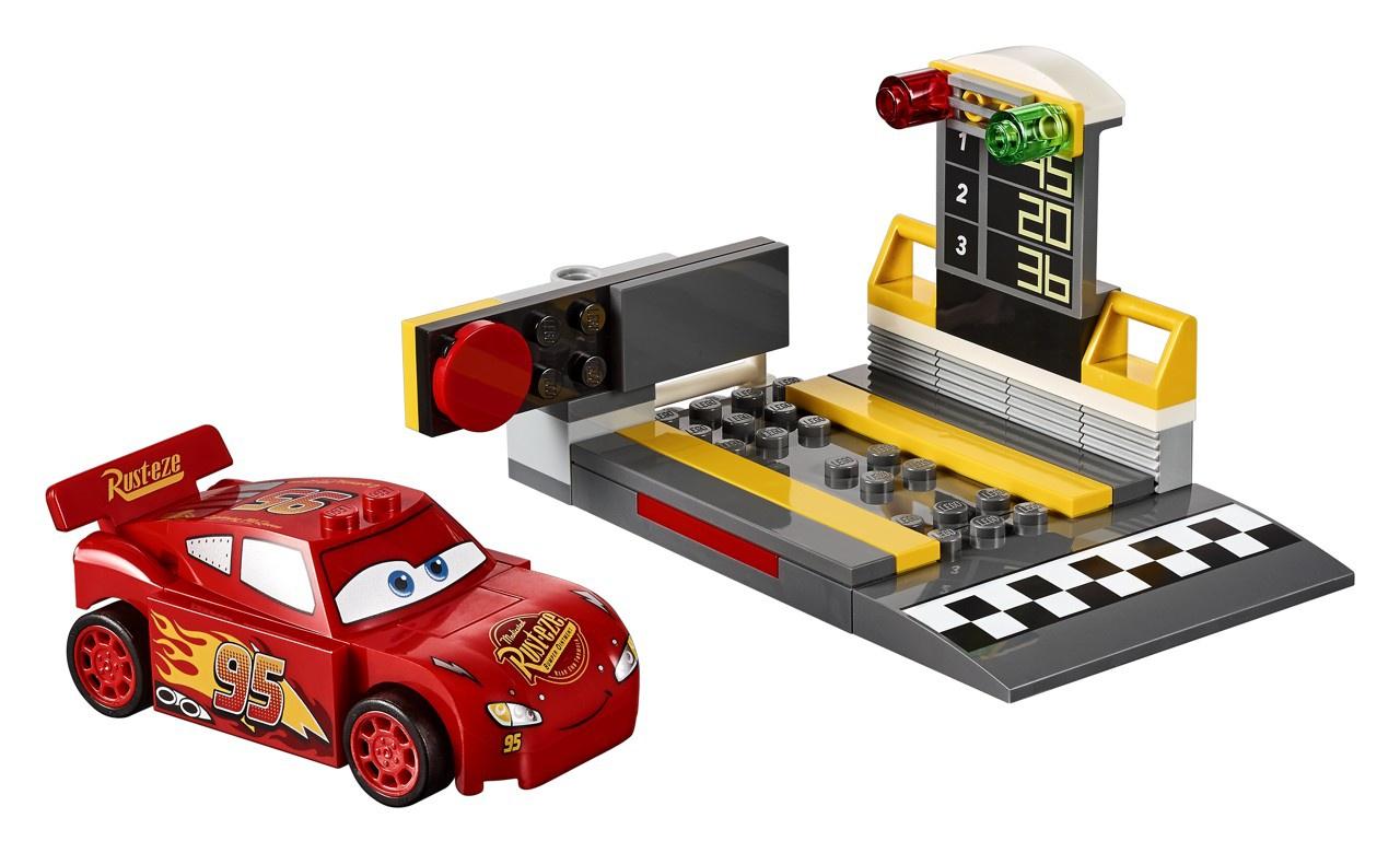 Lego Juniors 10730 Cars Vystřelovač Bleska McQueena