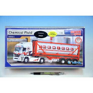 Monti System Stavebnice Monti 60 Chemical Fluid Actros L-MB 1:48 v krabici 31,5x16,5x7,5cm