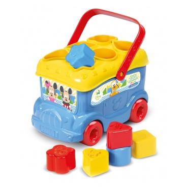 Clementoni Prostrkávadlo Autobus Mickey