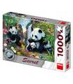 Dino puzzle Pandy 1000D secret