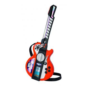 Simba Musik Simba My Music World dětská elektronická kytara, i pro MP3