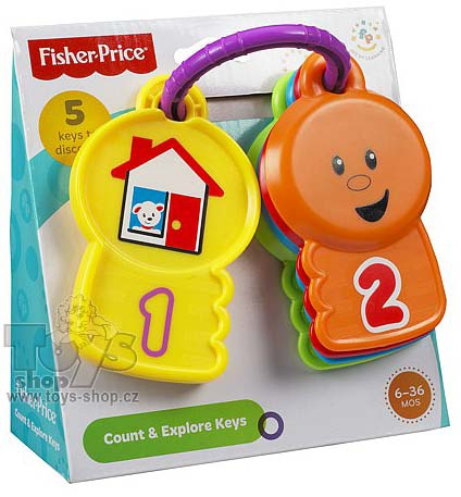 Fisher Price Y4294 Barevné klíčky