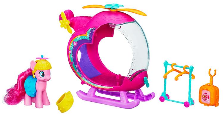 MLP My Little Pony Pinkie Pie s helikoptérou A5935