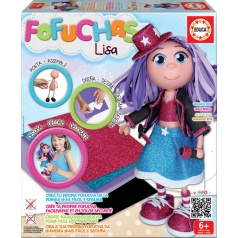 EDUCA Pop Star - vytvoř si svou panenku