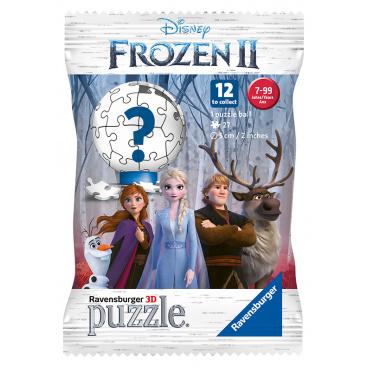 Ravensburger 3D puzzle Ledové království 2, pytlíček s překvapením, 27 dílků