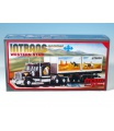 Stavebnice Monti 25 Intrans Container Western star 1:48 v krabici 31,5x16,5x7,5cm