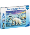 Ravensburger puzzle Polární zvířata 300 XXL dílků