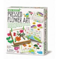 4M Výroba dekorace z květin