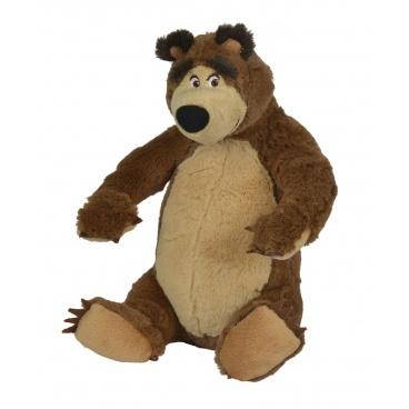 Simba Máša a medvěd Plyšový medvěd 25 cm, 2 druhy