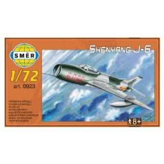 Směr Model letadla Shenyang J-6 12,5x18cm v krabici 25x14x5cm