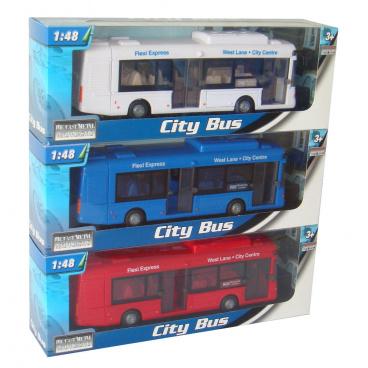mac toys 1:48 Autobus městský 3ass