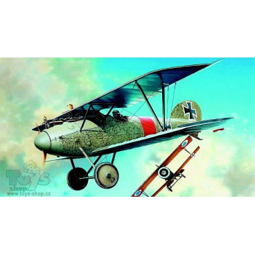 Směr Model Albatros D.Va 1:72 10,2x12,6cm v krabici 25x14,5x4,5cm