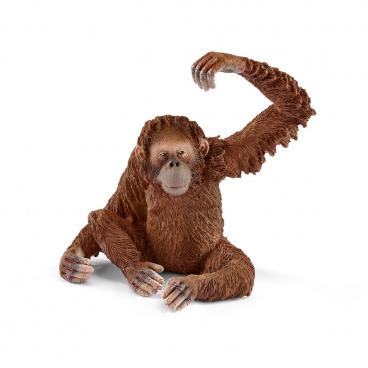 Schleich 14775 zvířátko - samička orangutana