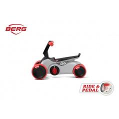 BERG GO SparX - 2v1, odrážadlo a šliapadlo červené