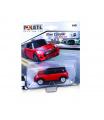 Polistil Mini Cooper Slot car 1:43 Red