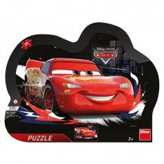 Dino puzzle dětské WD Cars: Souboj 25D deskové