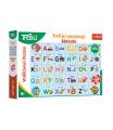 Trefl Puzzle Treflíci poznávají Abecedu 30 dílků 60x40cm v krabici 33x23x6cm