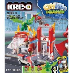 KRE-O Cityville stavebnice Požární stanice