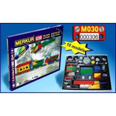 MERKUR - Stavebnice Merkur 030 Cross expres, 310 dílů, 10 modelů
