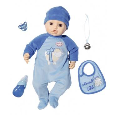 Zapf Creation Baby Annabell Alexander, 43 cm