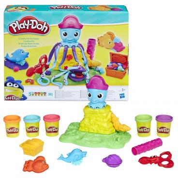 Hasbro Play-Doh Potrhlá chobotnice