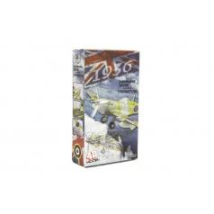 Teddies Letadlo model Supermarine Spitfire 4D plast mix druhů v krabici 13x22x4,5cm 6ks v boxu