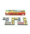 Teddies Domino Moje první zvířátka 28ks společenská hra v krabičce 21x6x3cm