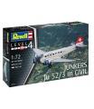 Revell Plastic ModelKit letadlo 04975 - Junkers Ju52/3m Civil (1:72)