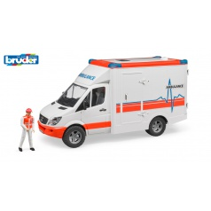Bruder 2536 Záchranná auta - Ambulance Sprinter s řidičem