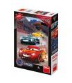 Dino dětské puzzle WD Cars3: Vítězné kolo 100XL neon
