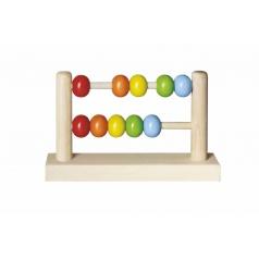 Detoa Počítadlo kuličkové dřevěné 19x11,5cm