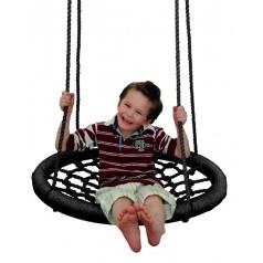 Woody Houpací kruh (průměr 85cm) - černý