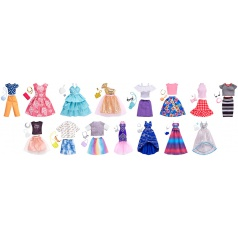 Mattel Barbie ŠATY S DOPLŇKY ASST různé druhy